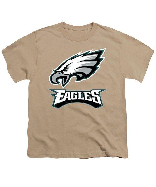 Philadelphia Eagles Translucent Steel Youth T-Shirt