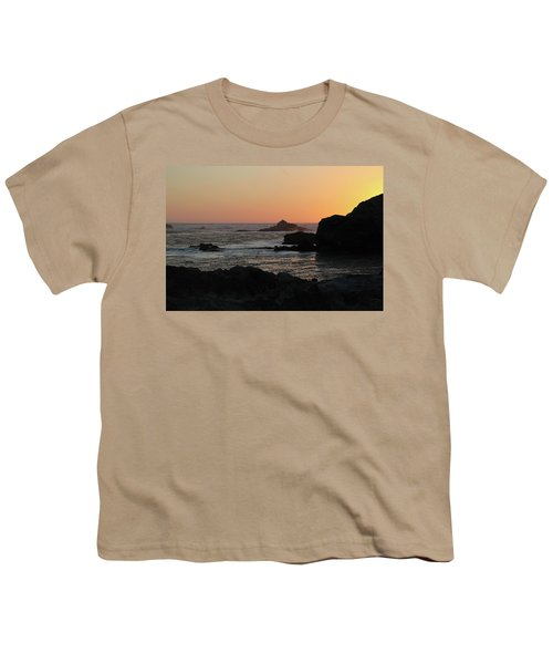 Point Lobos Sunset Youth T-Shirt