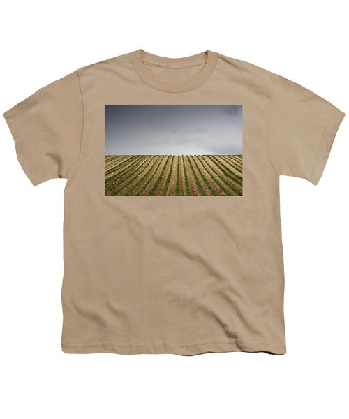 Potato Field Youth T-Shirt by John Short