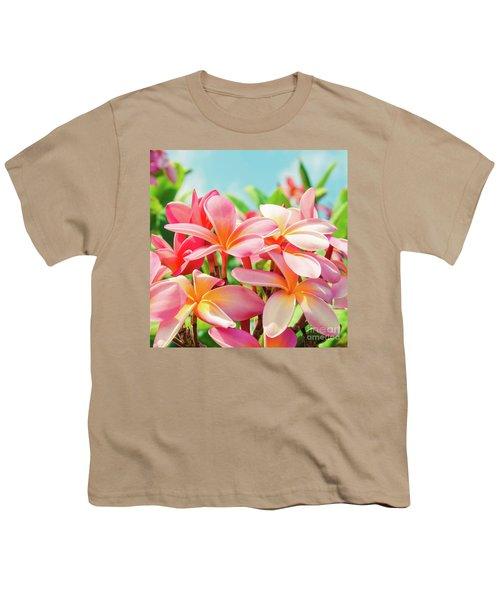 Pua Melia Ke Aloha Maui Youth T-Shirt