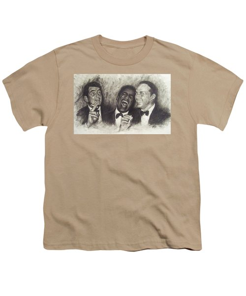 Rat Pack Youth T-Shirt by Cynthia Campbell