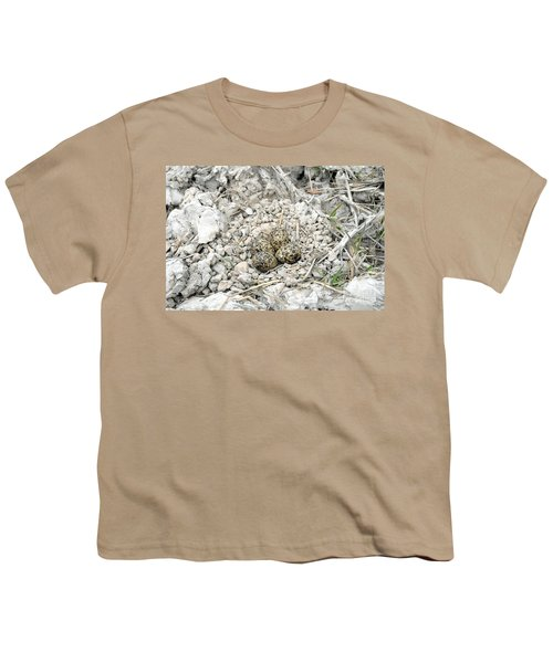 Red-wattled Lapwing Nest Youth T-Shirt
