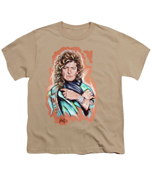 Robert Plant Youth T-Shirt by Melanie D
