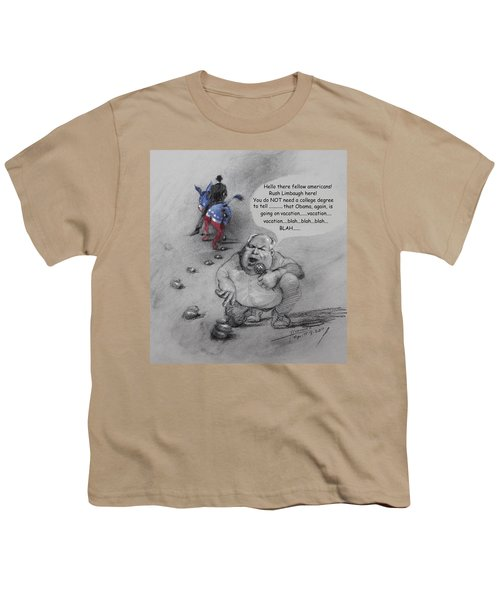 Rush Limbaugh After Obama  Youth T-Shirt