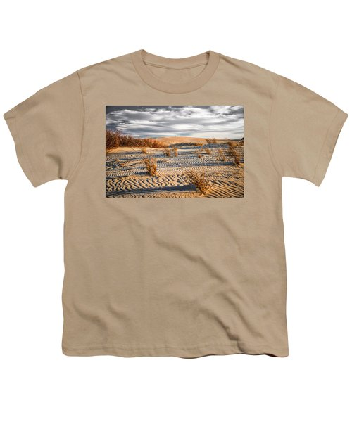 Sand Dune Wind Carvings Youth T-Shirt