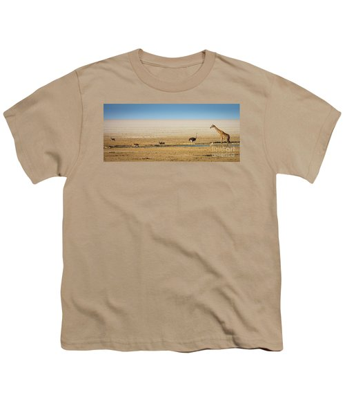 Savanna Life Youth T-Shirt by Inge Johnsson