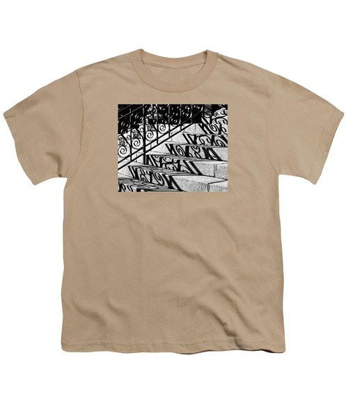 Shadow On The Rotunda Stairs Youth T-Shirt