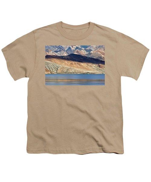 Shadow Tso Moriri, Karzok, 2006 Youth T-Shirt by Hitendra SINKAR