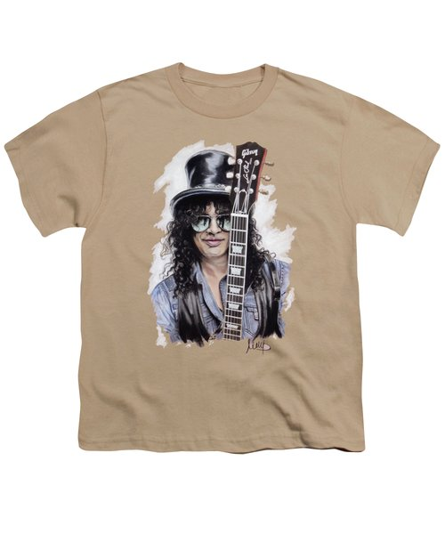 Slash 1 Youth T-Shirt by Melanie D