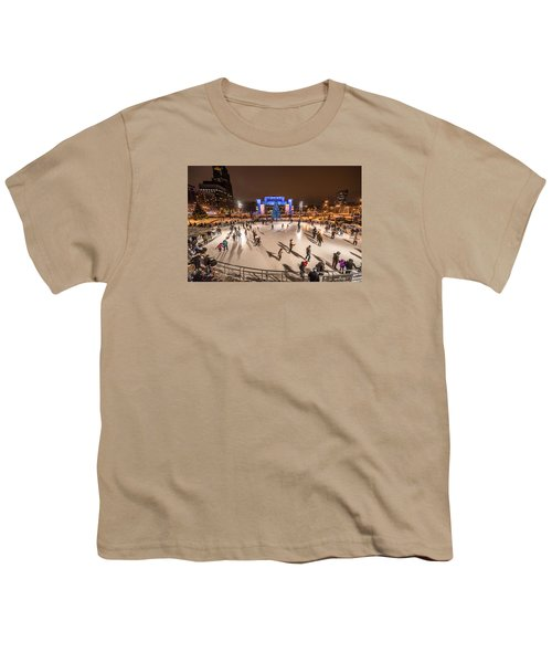 Slice Of Ice Youth T-Shirt by Randy Scherkenbach