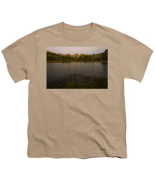 Sprague Lake Youth T-Shirt by Gary Lengyel