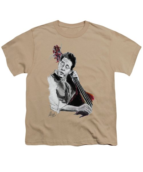 Stanley Clarke Youth T-Shirt by Melanie D