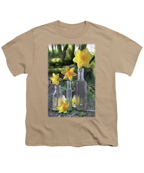 Still Life In The Woods Youth T-Shirt by Jon Delorme
