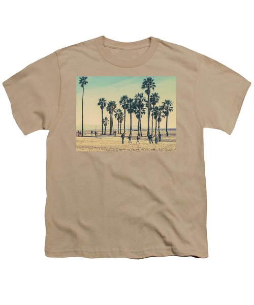 Stroll Down Venice Beach Youth T-Shirt