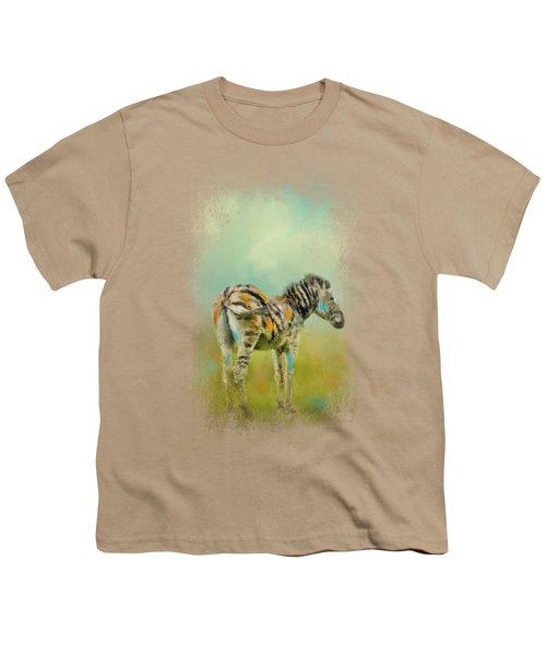 Summer Zebra 1 Youth T-Shirt