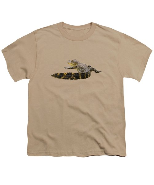 Sunning On The Shore Youth T-Shirt