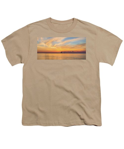 Youth T-Shirt featuring the photograph Sunrise And Splendor by Bill Pevlor