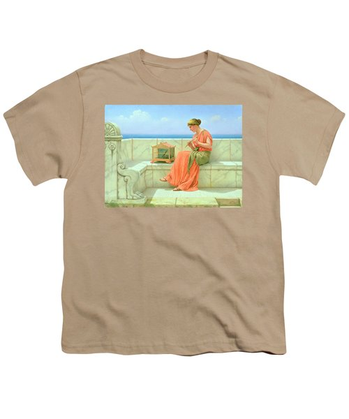 Sweet Sounds Youth T-Shirt by John William Godward