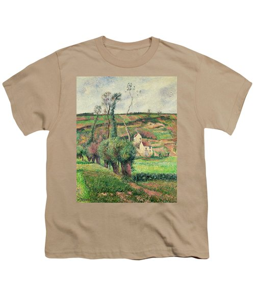 The Cabbage Slopes Youth T-Shirt by Camille Pissarro