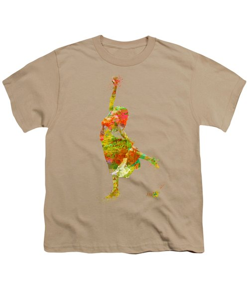 The Music Rushing Through Me Youth T-Shirt by Nikki Smith