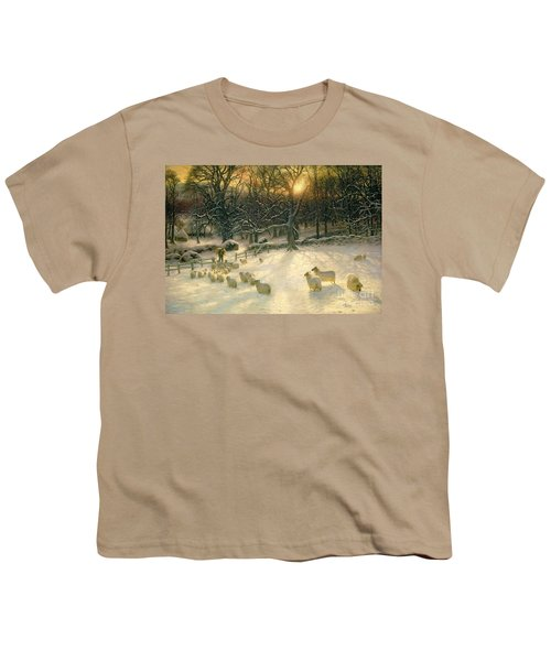 The Shortening Winters Day Is Near A Close Youth T-Shirt