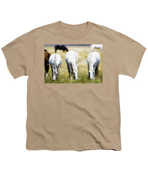 The Three Amigos Grazing Youth T-Shirt