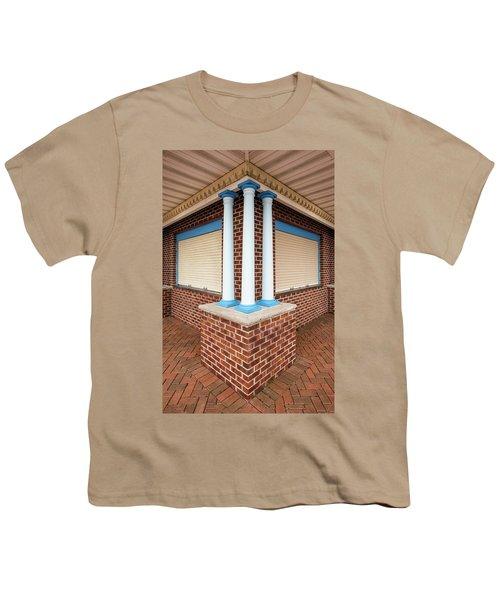 Three Pillars At The Refreshment Stand Youth T-Shirt