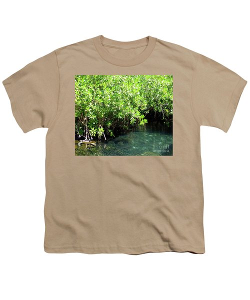 Youth T-Shirt featuring the photograph Turtle Swim by Francesca Mackenney