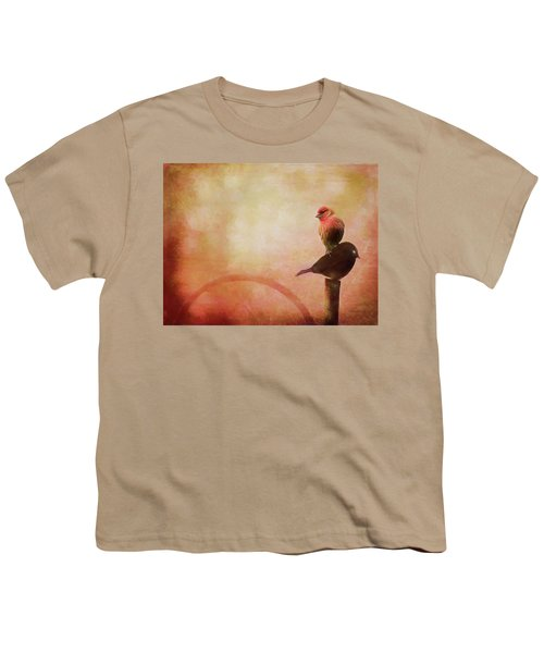 Two Birds In The Mist Youth T-Shirt