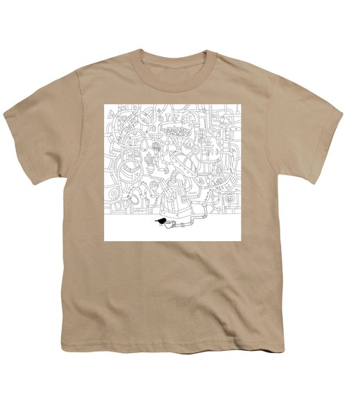 Two Worlds Youth T-Shirt