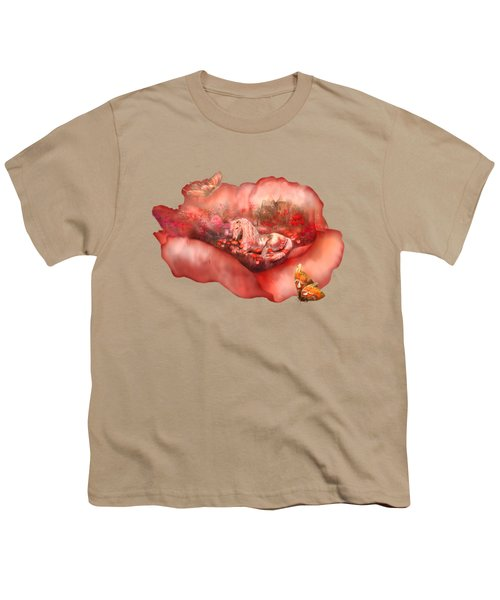 Unicorn Of The Poppies Youth T-Shirt