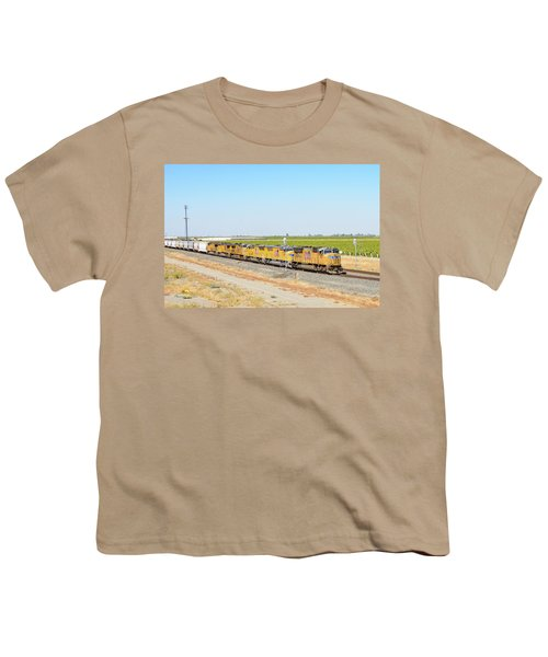 Youth T-Shirt featuring the photograph Up4912 by Jim Thompson
