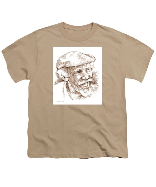 Victor Boa Youth T-Shirt by Greg Joens