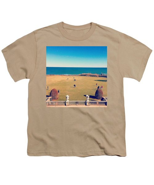 Looking Out From The Gilded Age Youth T-Shirt
