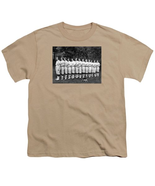 Vintage Photo Of Women's Baseball Team Youth T-Shirt by American School