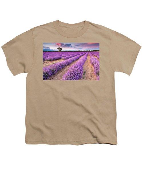 Violet Dreams Youth T-Shirt