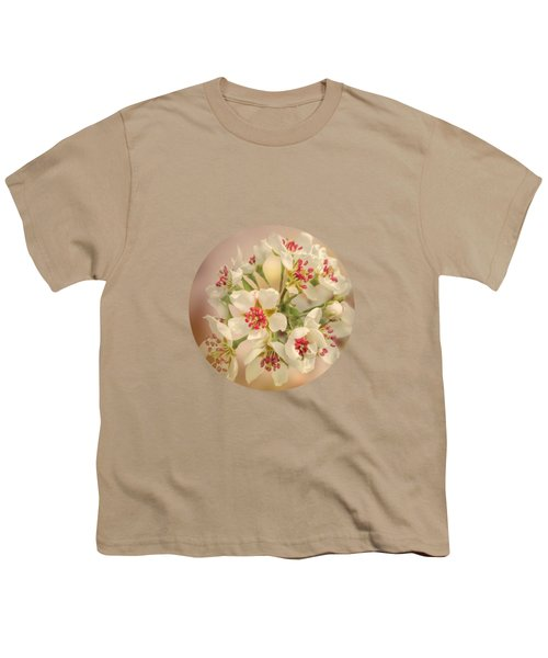 Wild Pear Blossom Youth T-Shirt