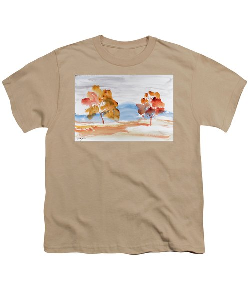 Windy Autumn Colours  Youth T-Shirt
