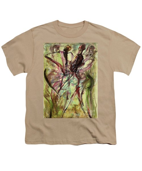 Windy Day Youth T-Shirt by Ikahl Beckford