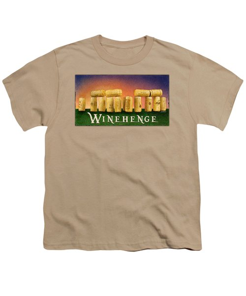Winehenge Youth T-Shirt by Will Bullas
