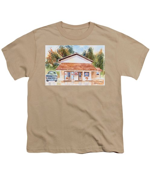 Woodcock Insurance In Watercolor  W406 Youth T-Shirt by Kip DeVore