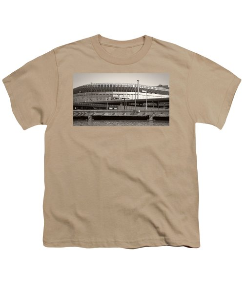 Yankee Stadium    1923  -  2008 Youth T-Shirt by Daniel Hagerman