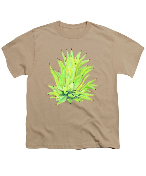 Yellow Octopus Agave Youth T-Shirt
