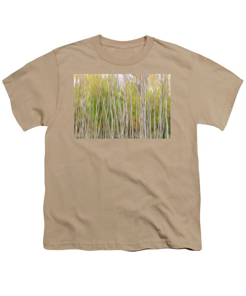 Youth T-Shirt featuring the photograph Forest Twist And Turns In Motion by James BO Insogna