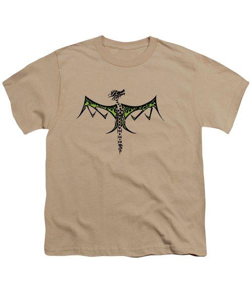 Skeleton Dragon Youth T-Shirt