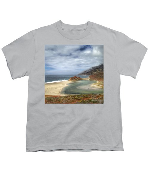 Little Sur River In Big Sur Youth T-Shirt