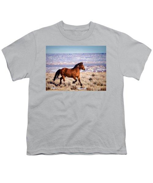 Eagle - Wild Horse Stallion Youth T-Shirt