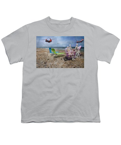Search Party Youth T-Shirt by Betsy C Knapp