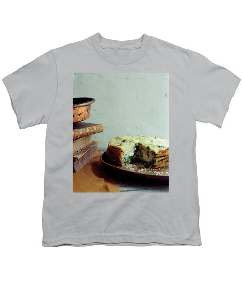 A Gourmet Torte Youth T-Shirt by Romulo Yanes