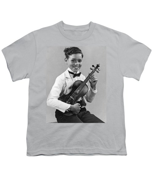 A Proud And Elegant Violinist Youth T-Shirt